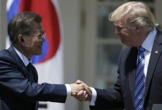 President South Korea Trump deserves Nobel Peace Prize