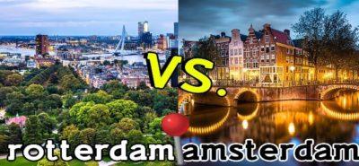 Rotterdam vs Amsterdam