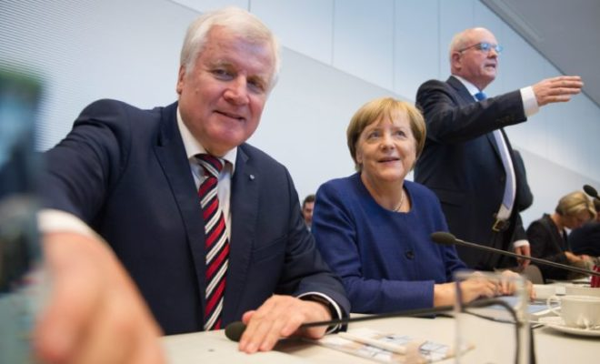 CSU Seems to Give Merkel More Time to Arrange Migrant Deal
