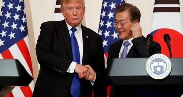 South Korea asks Trump What Ending War Games Means