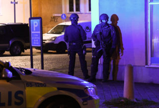 One Dead and Four Wounded by Shooting Sweden