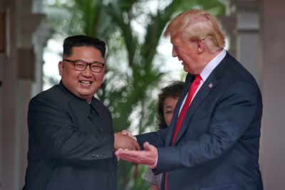 Trump: Sanctions Against North Korea Remain Standing-Stop Military Exercises