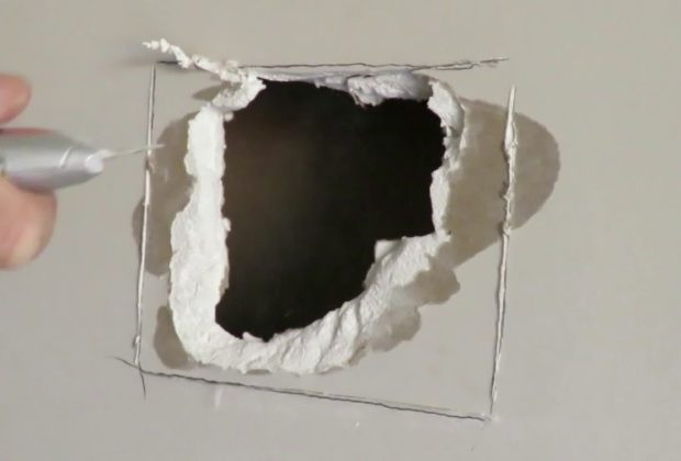 You Kicked A Hole In The Wall – Tips For Plastering A Wall