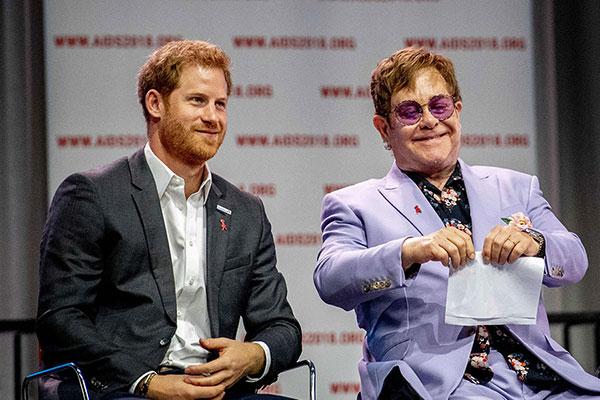 Prince Harry Elton John