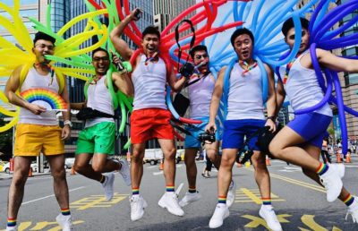 More Than 200,000 People Join Pride Parade in Taiwan
