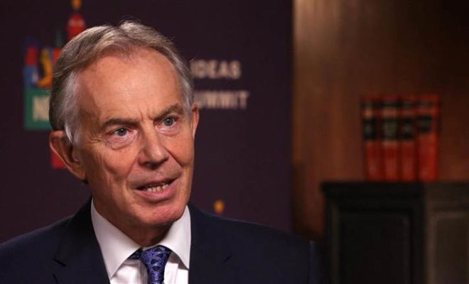 Tony Blair Calls for Tactical Voting to Deprive Tories and Labour of A Majority