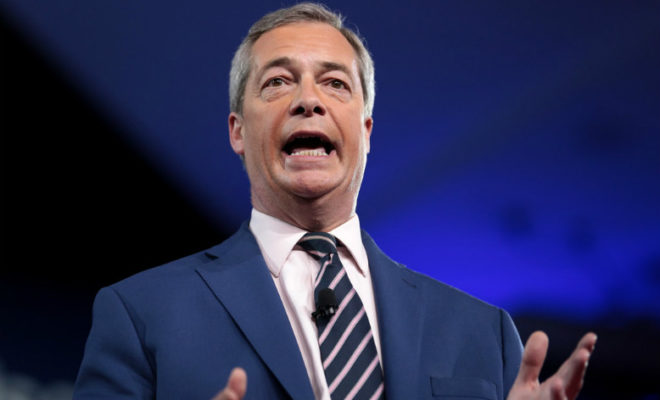 Brexit Party will not Contest 317 Tory-Won Seats, Farage Says
