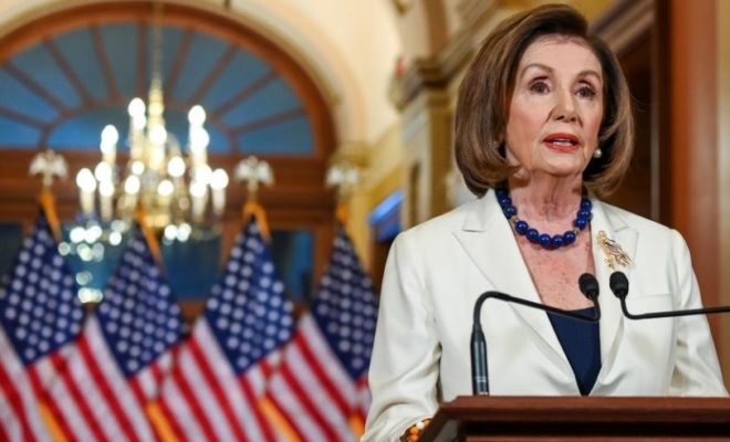 US House to Draft Impeachment Charges Against President Trump: Pelosi