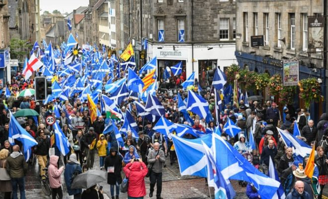 Scotland: Tens of Thousands People are On the Streets for an Independent Country