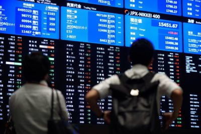 The Stock Exchange in Japan Started the New Trading Week with A Profit on Monday