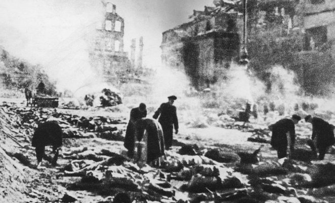 Germany Commemorates the Bombing of Dresden in World War II