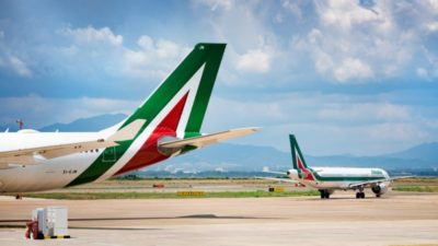 Italy Wants to Take Control of Alitalia Airline