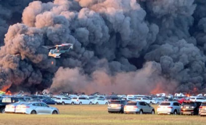 More Than 3,500 Rental Cars Destroyed by Blaze At Florida Airport