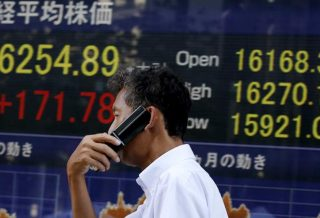 Nikkei Closes Higher and Alibaba Down in Hong Kong