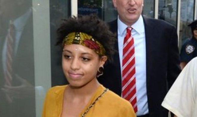 Daughter of Mayor New York Arrested at Manhattan Demonstration
