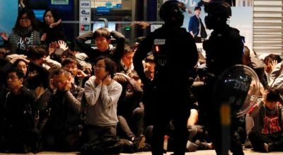 Hong Kong Police Arrested Dozens of Activists During Protest Actions