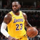 Basketball Players LA Lakers Second Defeat in NBA