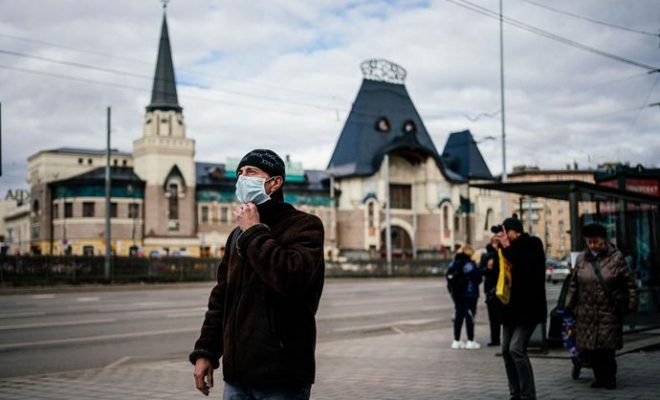 Russia Reports Record Deaths and Corona Infections