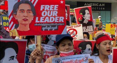 Security Forces Shoot at Myanmar Demonstrators: Several Dead